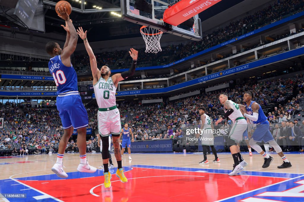 Boston Celtics v Sacramento Kings : News Photo