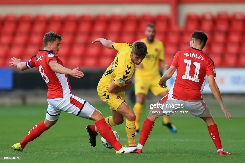 Crewe Alexandra v Fleetwood - Carabao Cup First Round