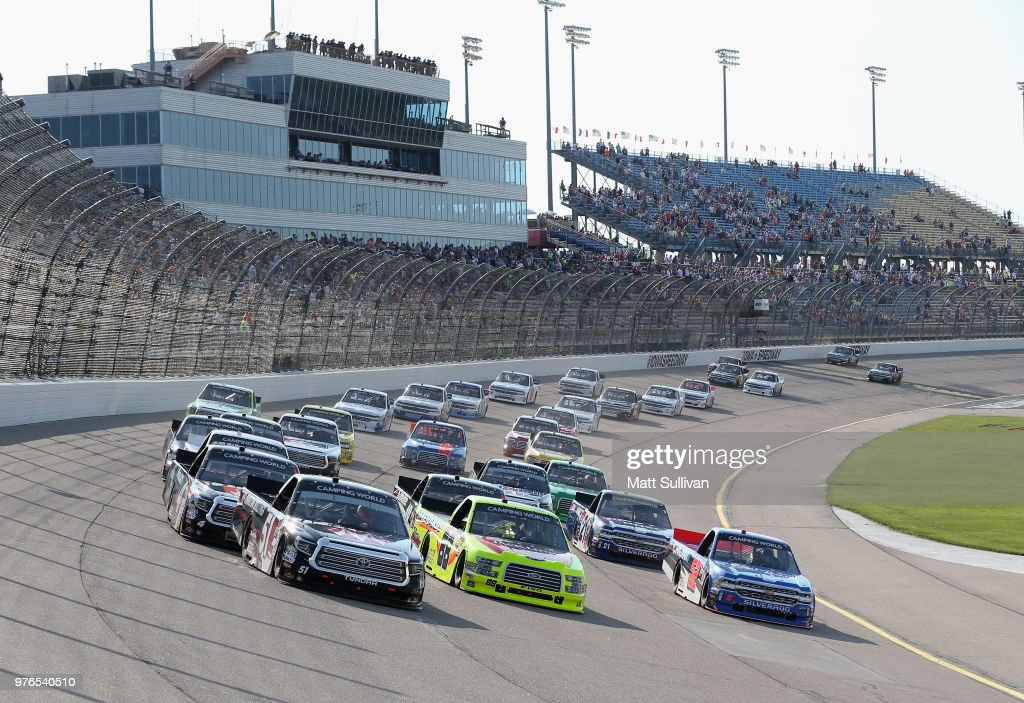 NASCAR Camping World Truck Series M&M's 200 presented by Casey's General Store : News Photo