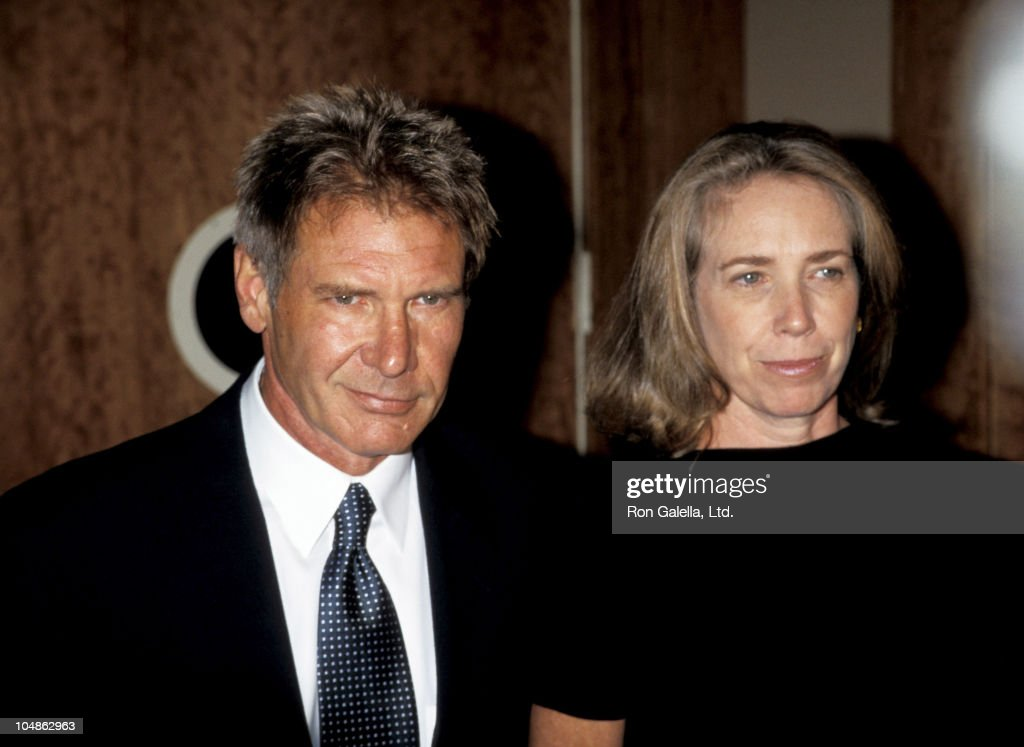 Harrison Ford and Melissa Mathison during Amnesty International USA 2nd Annual Media Spotlight Awards at Pier Sixty in New York City, New York, United States.