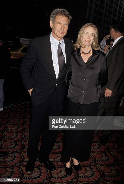 Harrison Ford and Melissa Mathison during 'Six Days Seven Nights' New York City Premiere at Sony Lincoln Square in New York City New York United...