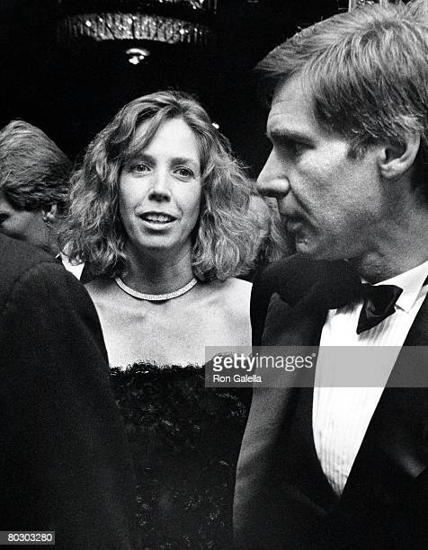 Harrison Ford and wife Melissa Mathison