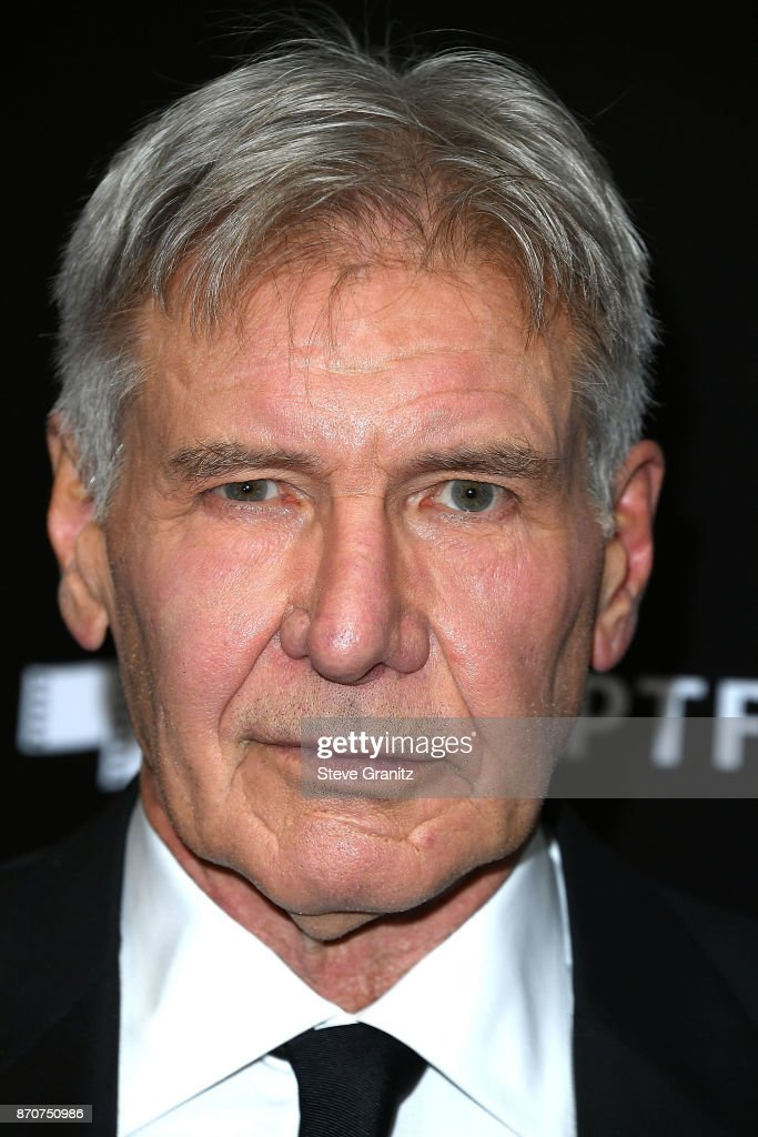 Harrison Ford arrives at the 21st Annual Hollywood Film Awards at The Beverly Hilton Hotel on November 5, 2017 in Beverly Hills, California.
