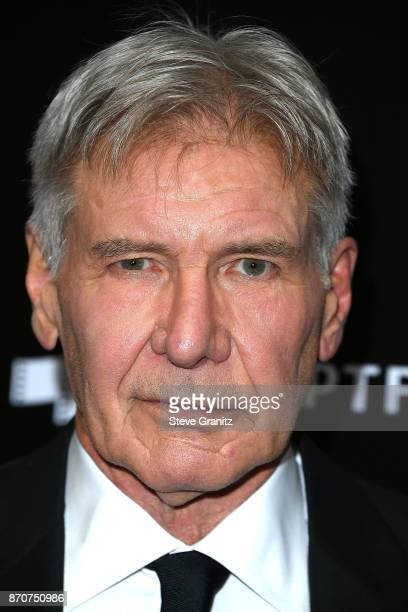 Harrison Ford arrives at the 21st Annual Hollywood Film Awards at The Beverly Hilton Hotel on November 5 2017 in Beverly Hills California
