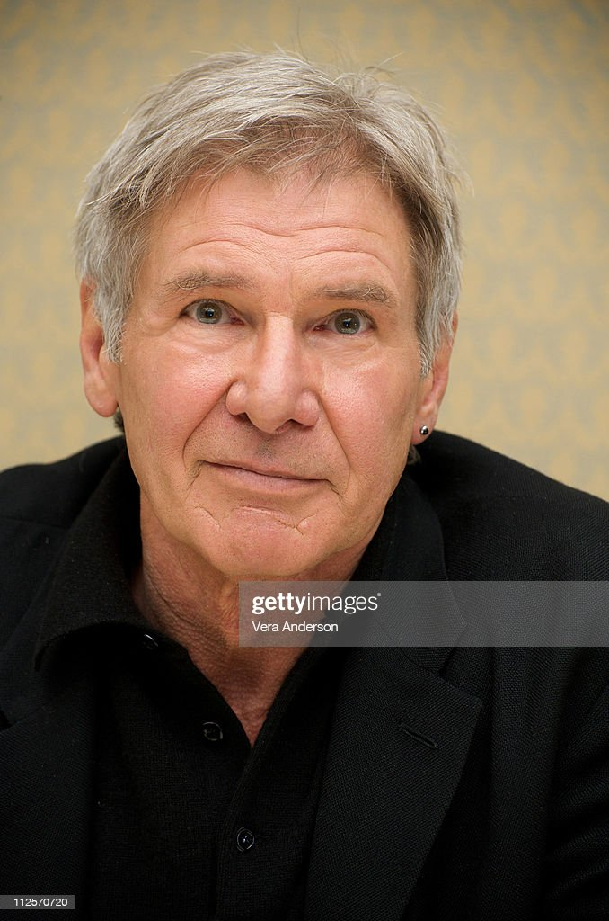 Harrison Ford at the 'Extraordinary Measures' press conference at the Four Seasons Hotel on January 8, 2010 in Beverly Hills, California.
