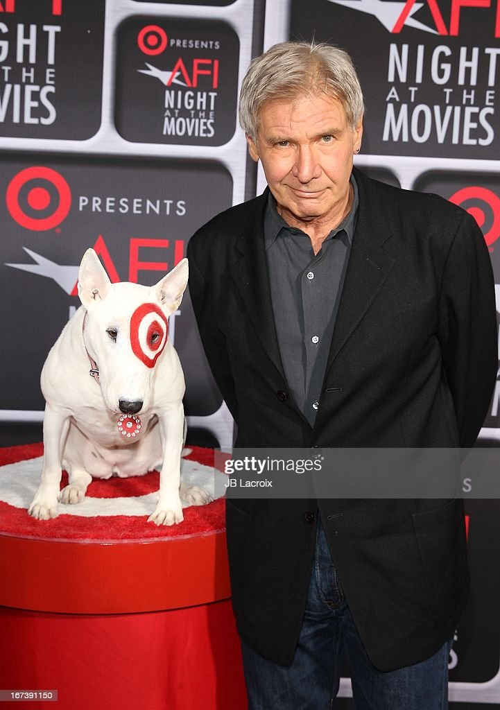 Harrison Ford attends the AFI Night At The Movies presented by Target held at ArcLight Hollywood on April 24, 2013 in Hollywood, California.