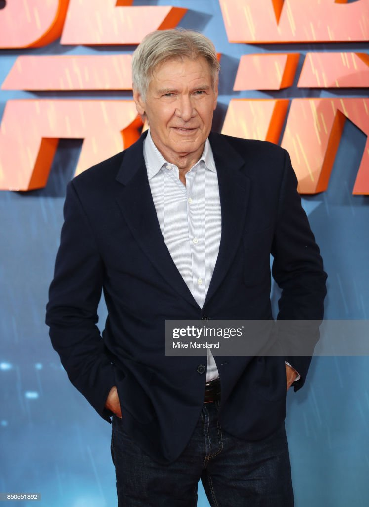 Harrison Ford attends the 'Blade Runner 2049' photocall at The Corinthia Hotel on September 21, 2017 in London, England.