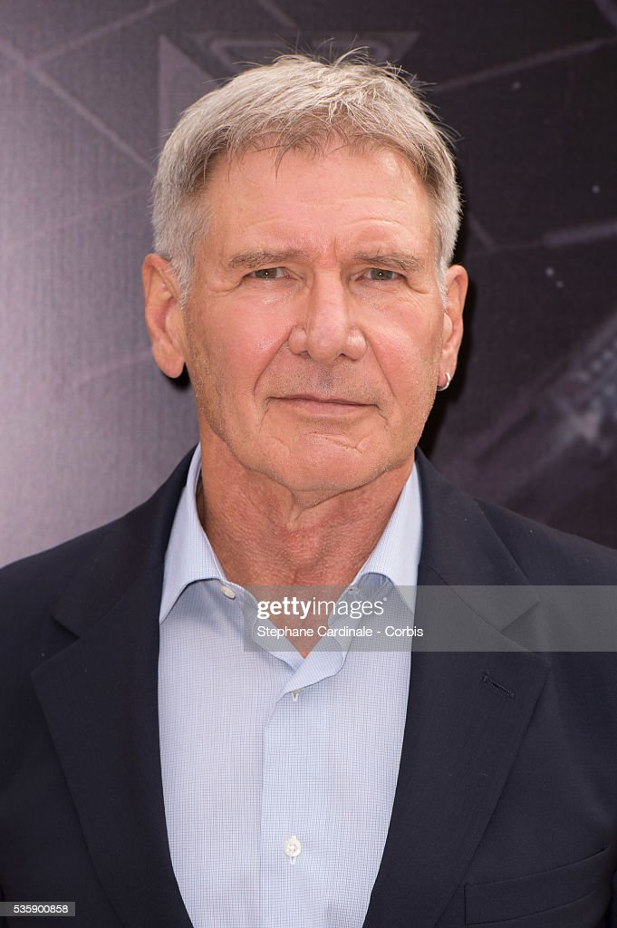 Harrison Ford attends the 'Ender's Game' Photocall, in Paris.