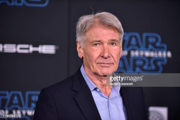 Harrison Ford attends the Premiere of Disney's Star Wars The Rise Of Skywalker on December 16 2019 in Hollywood California