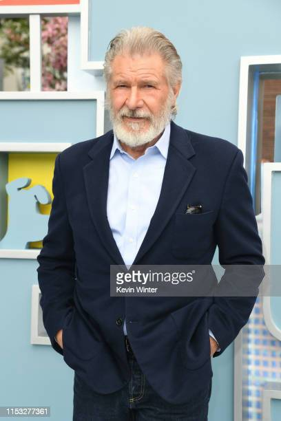 Harrison Ford attends the Premiere of Universal Pictures' 'The Secret Life Of Pets 2' at Regency Village Theatre on June 02 2019 in Westwood...