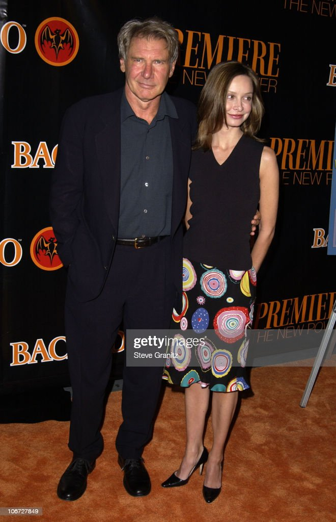 Harrison Ford & Calista Flockhart during Premiere's The New Power