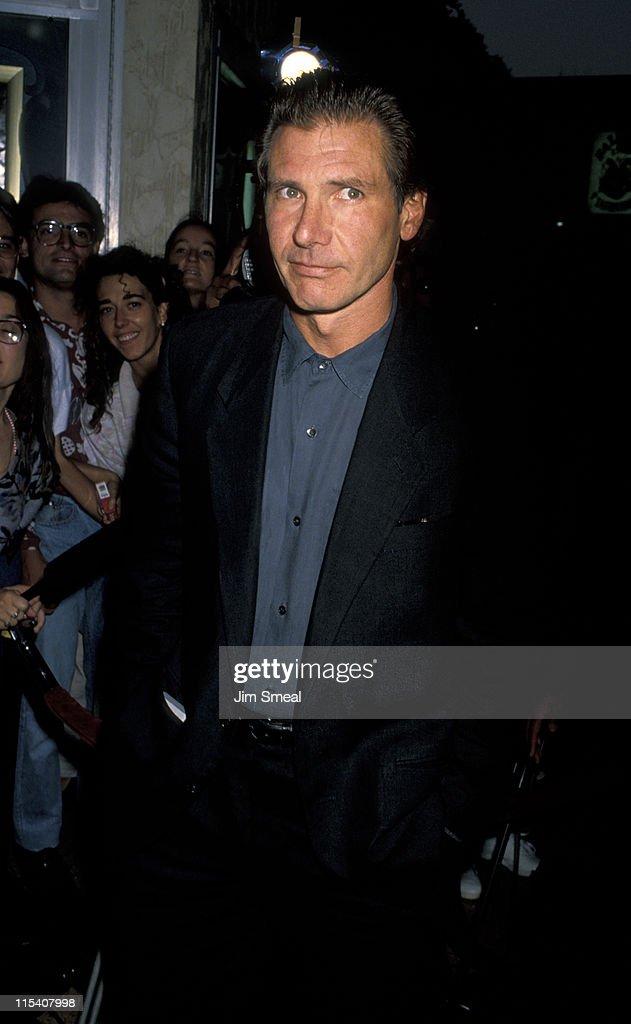 Harrison Ford During U0027Presumed Innocentu0027 Los Angeles Screening At Bruin  Theater In Westwood,