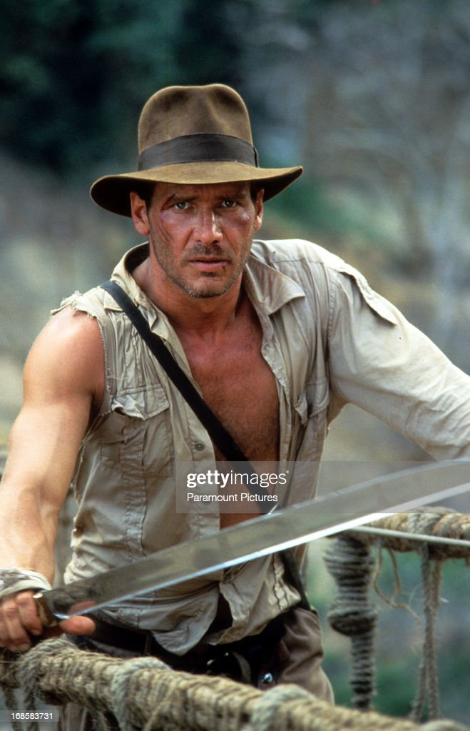 Harrison Ford In 'Indiana Jones And The Temple Of Doom' : News Photo
