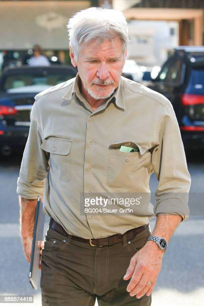 Harrison Ford is seen on December 08 2017 in Los Angeles California