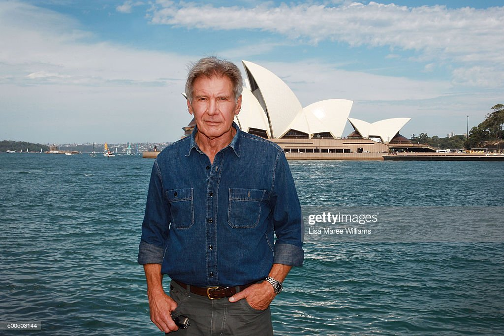 Harrison Ford Photo Call : News Photo