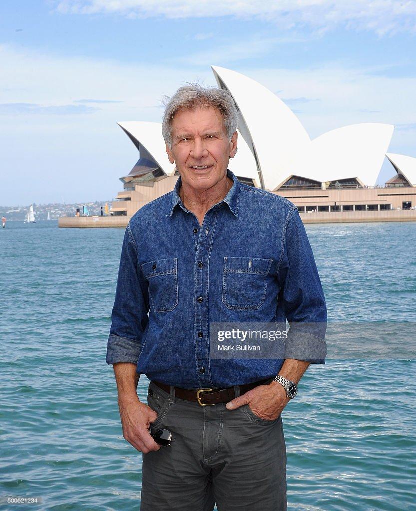 Harrison Ford Photo Call