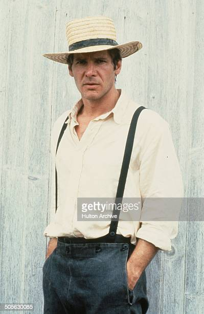 Harrison Ford poses for the Paramount Pictures movie Witness circa 1985