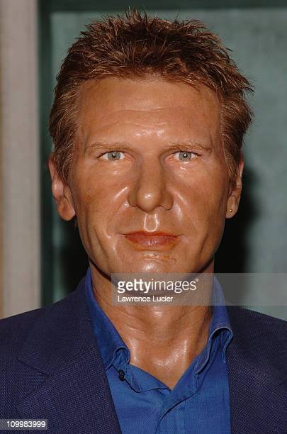 Harrison Ford waxwork during Madame Tussauds New York Celebrity Wax Figures - September 20, 2005 at Madame Tussauds New York in New York City, New...