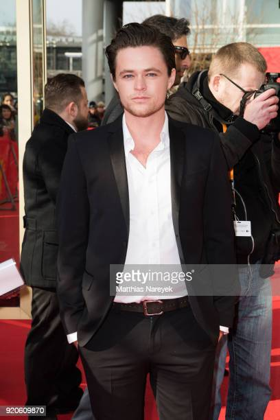 Harrison Gilbertson attends the 'Picnic at Hanging Rock' premiere during the 68th Berlinale International Film Festival Berlin at Zoo Palast on...