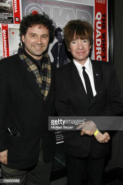 Harrison Held and Rodney Bingenheimer during Quadrophenia Musical Theatre Performance at The Avalon in Hollywood California United States