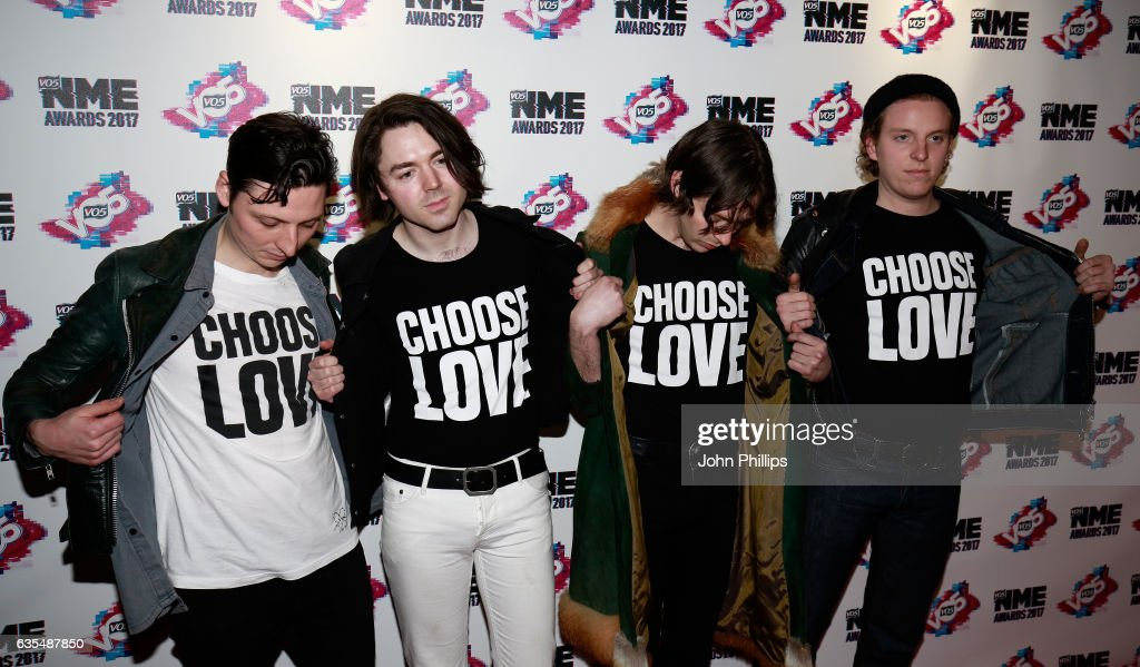 VO5 NME Awards 2017 - Arrivals