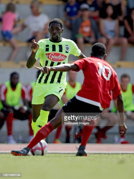 Romain Thomas of Angers during the Club Friendly match between Angers v Les Herbiers VF on July 17 2018 in Les Sables d'Olonne France