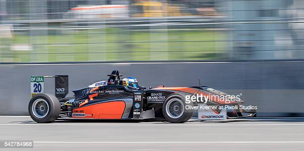 Harrison Newey of FIA Formula 3 Team van Amersfoort Racing during a free practice session in preparation for the upcoming 2016 FIA Formula 3 European...
