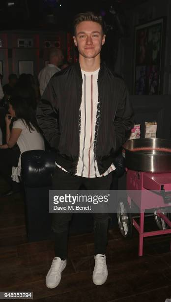 Harrison Osterfield attends the Tape London x PMC launch party at Tape London on April 18 2018 in London England