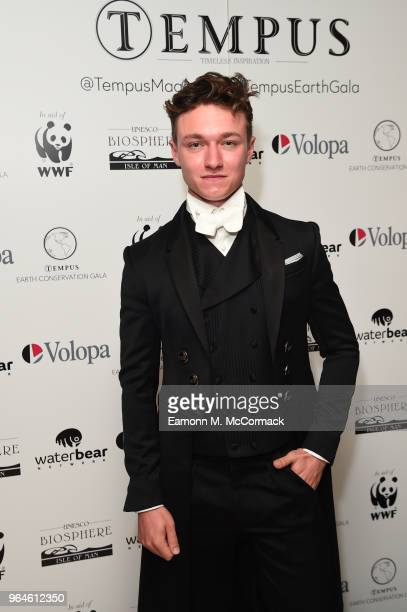 Harrison Osterfield attends the Tempus Earth Conservation Gala in aid of the WWF at The Dorchester on May 31 2018 in London EnglandThe event is...
