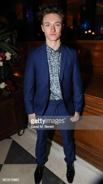 Harrison Osterfield attends the Universal Music BRIT Awards AfterParty 2018 hosted by Soho House and Bacardi at The Ned on February 21 2018 in London...