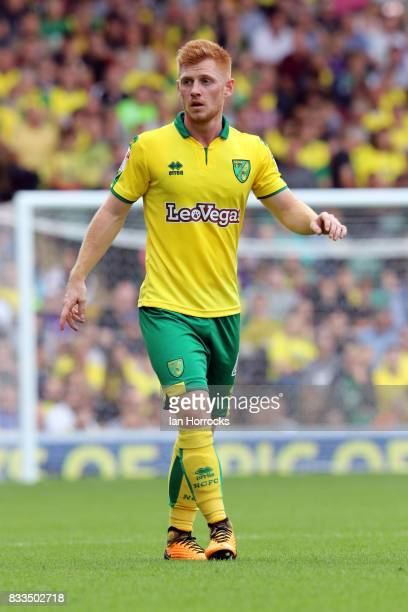 Harrison Reed of Norwich during the Sky Bet Championship match between Norwich City and Sunderland at Carrow Road on August 12 2017 in Norwich England