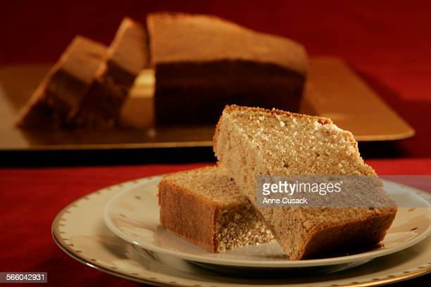 Harrison's Pound Cake from 1841 for food story on Inagural dishes by Andy Smith shot in studio in Los Angeles December 23 2008
