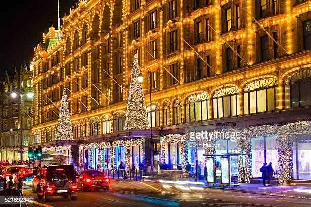 Harrod's at Christmas, London
