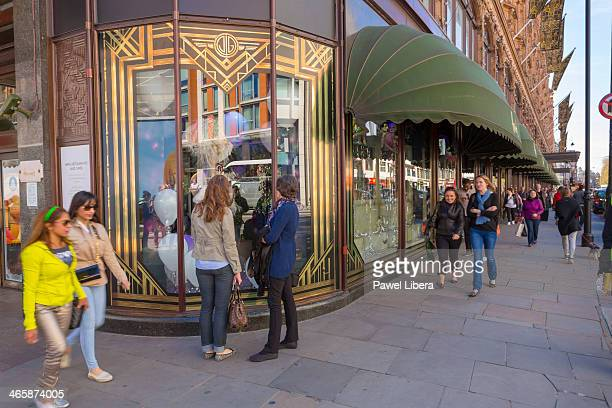 Harrods Department Store in Knightsbridge