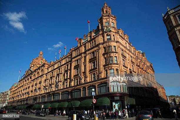 Harrods department store in the exclusive area of Knightsbridge In a selected few boroughs of West London wealth has changed over the last couple of...