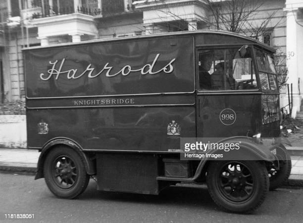 Harrod's electric van Creator Unknown