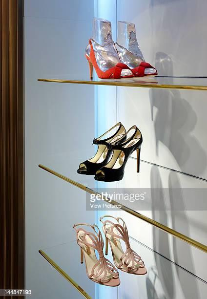 Harrods Ladies Shoe Salon 87135 Brompton Road London Sw1 United Kingdom Architect Shed Design Ltd Harrods Ladies Shoe Hall Interiors By Shed Design...