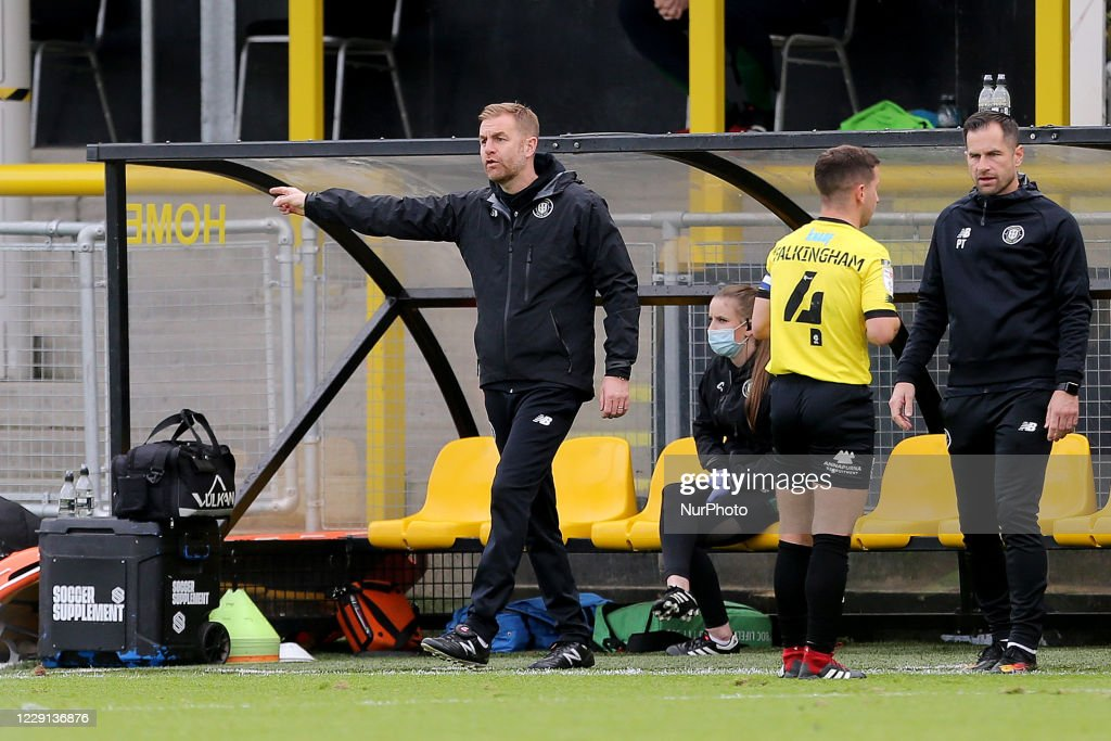 Harrogate Town v Barrow - Sky Bet League 2 : News Photo