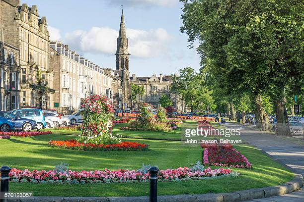 harrogate, west park and prospect place - harrogate stock pictures, royalty-free photos & images