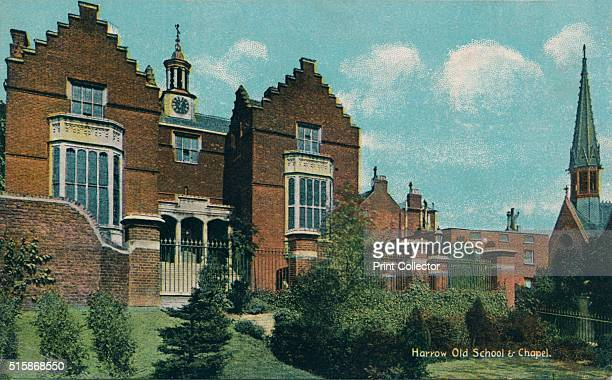 Harrow Old School Chapel' circa 1910 Harrow School an English independent school for boys The Harrow School was formally founded in 1572 by John Lyon...