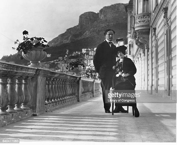 Harry and Beatrice Houdini in Monte Carlo