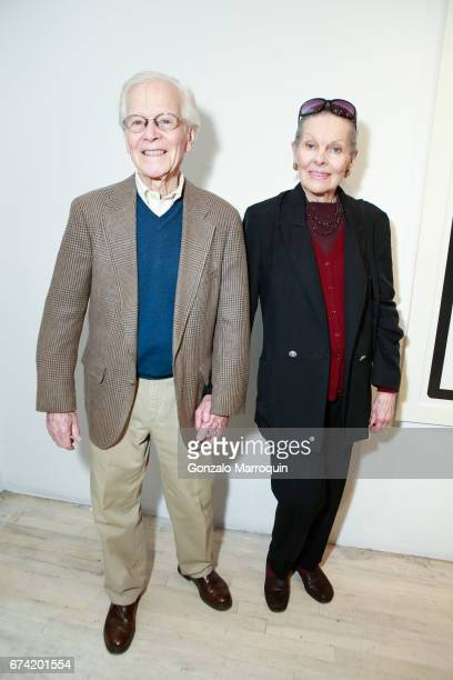 Harry and Mary Bertschmann attend the Swiss Wine Valais Loves New York hosted by Gregory de la Haba Billy The Artist Anthony HadenGuest and Raul...