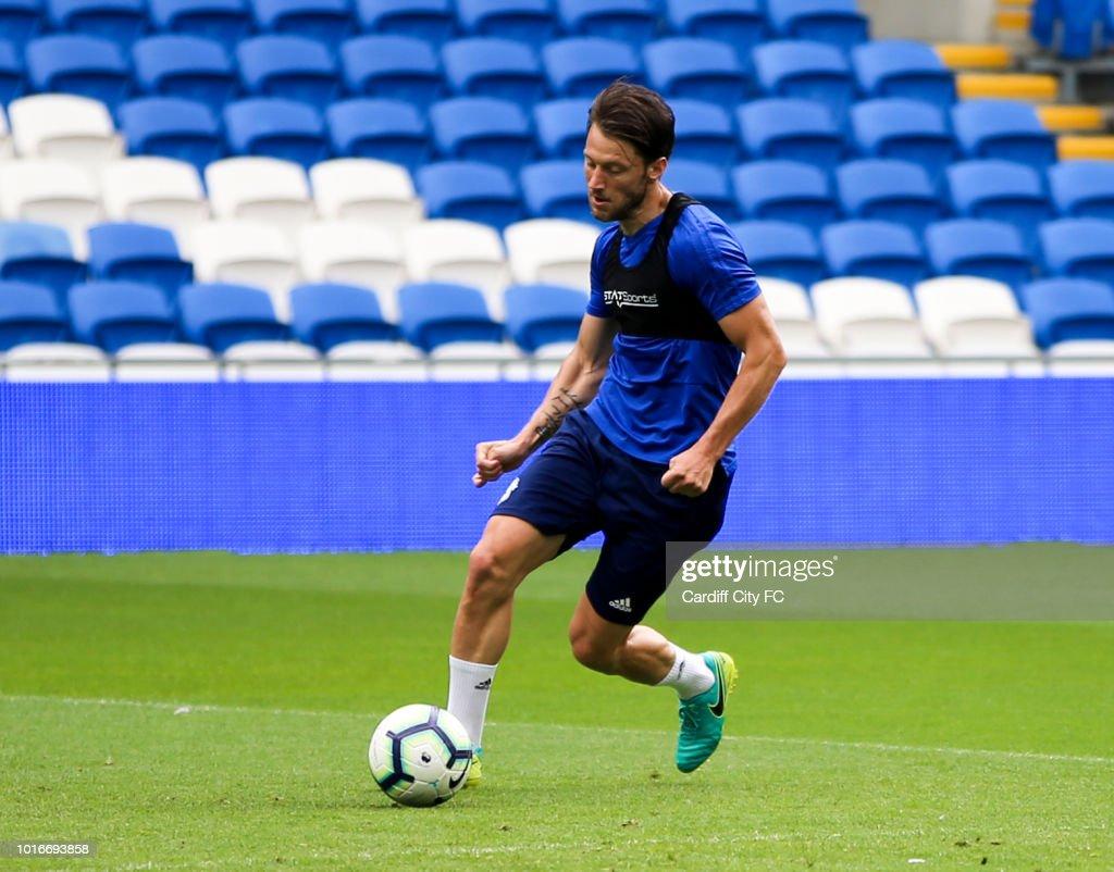 Cardiff City Training Session : News Photo