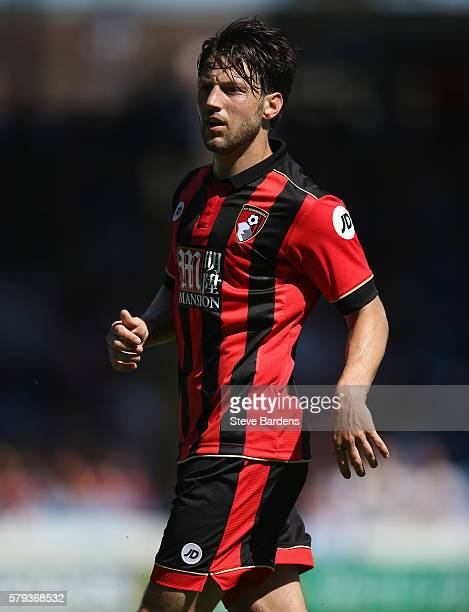 Harry Arter of AFC Bournemouth during the PreSeason Friendly match between Portsmouth FC and AFC Bournemouth at Fratton Park on July 23 2016 in...
