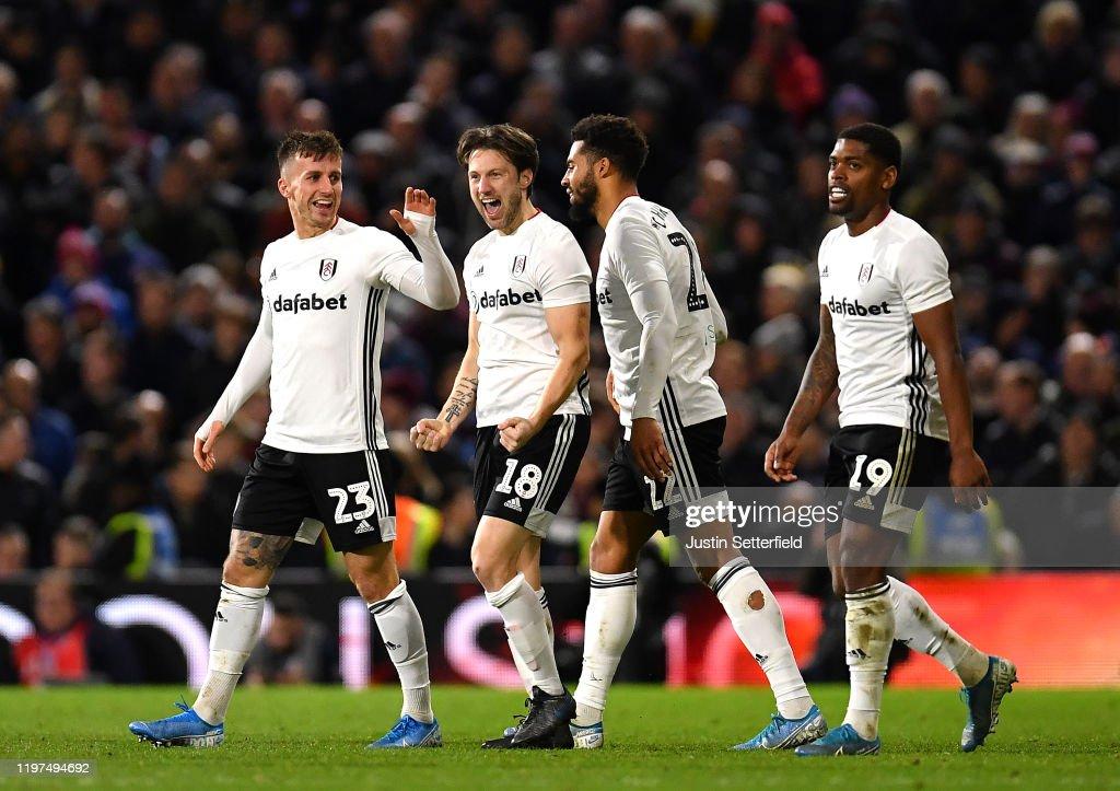 Fulham FC v Aston Villa - FA Cup Third Round : News Photo