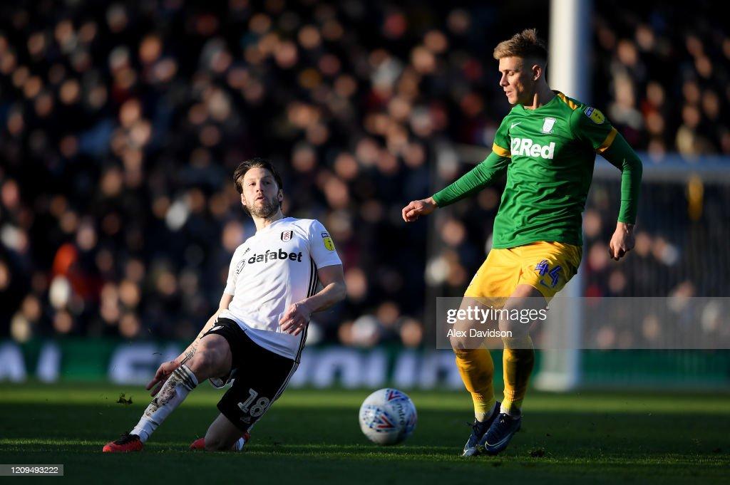 Fulham v Preston North End - Sky Bet Championship : News Photo