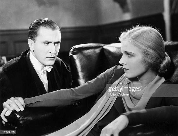 Harry Bannister and Ann Harding formerly Dorothy Gatley star in 'Her Private Affair directed by Paul L Stein and Rollo Lloyd for Pathe' The couple...