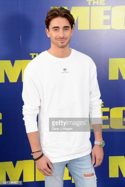 Harry Baron attends a special screening of 'The Meg' at Brockwell Lido on August 7 2018 in London England