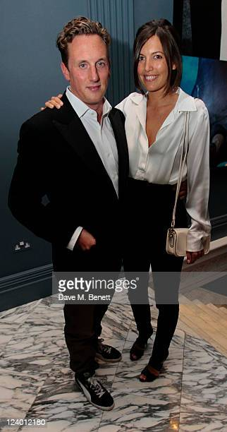 Harry Becher and Amanda Sheppard attend a dinner hosted by Coach in honour of Gwyneth Paltrow at The Arts Club on September 7 2011 in London England