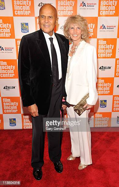 Harry Belafonte and Pamela Belafonte attend The Film Society of Lincoln Center's presentation of the 38th Annual Chaplin Award at Alice Tully Hall on...